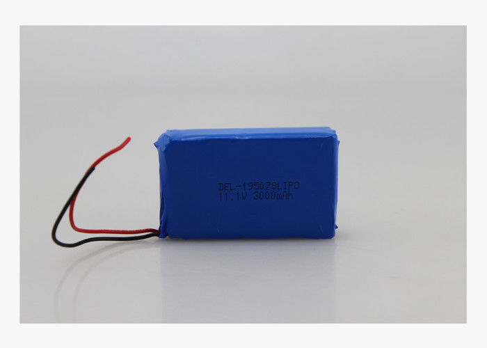 3000mAh 12V 3S1P Li Ion Battery Pack For Medical Devices and LED Lights