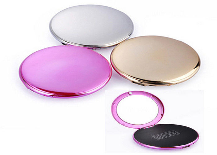 Creative Fashion Makeup Mirror popular power bank 4000mah Portable Battery Charger